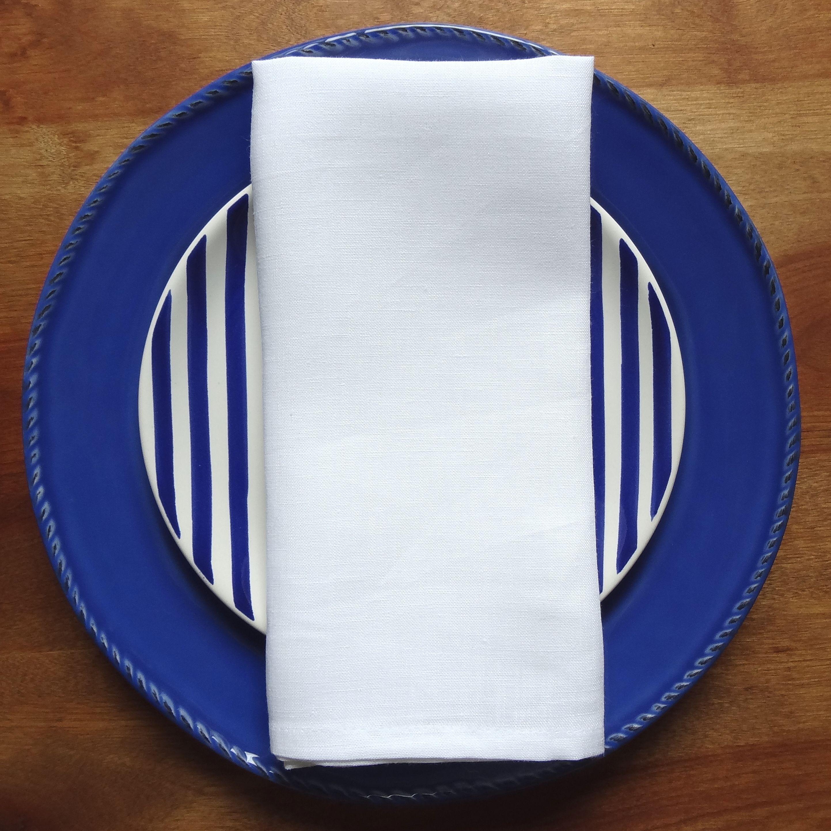 White Linen Napkin