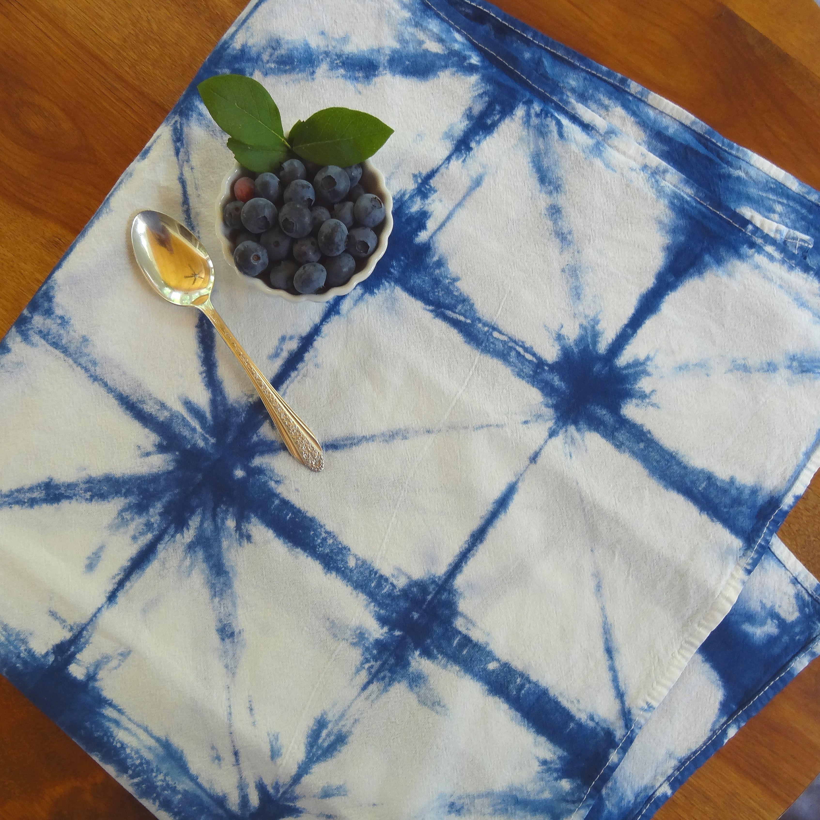 Indigo Flour sack towel