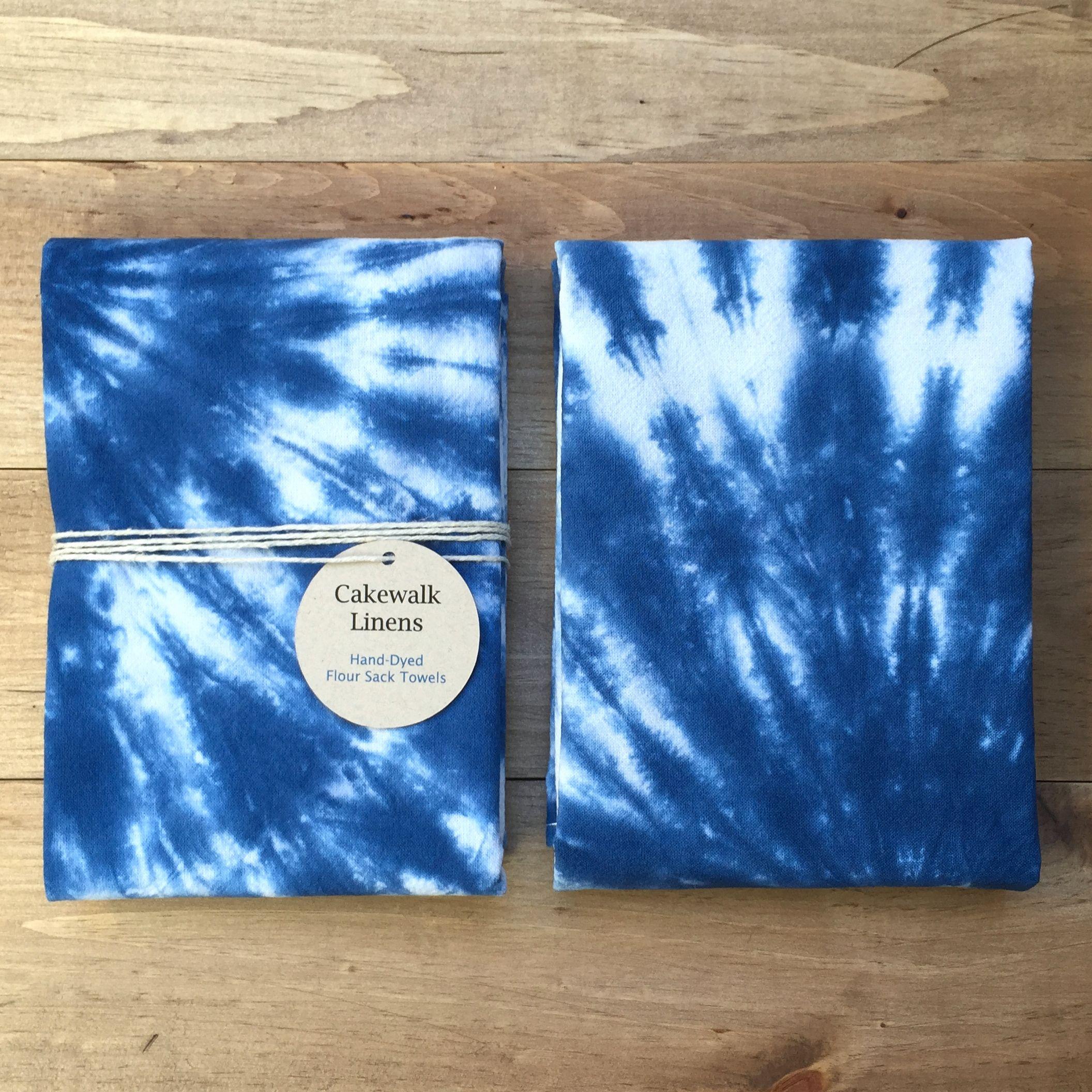Tie Dye Tea Towels
