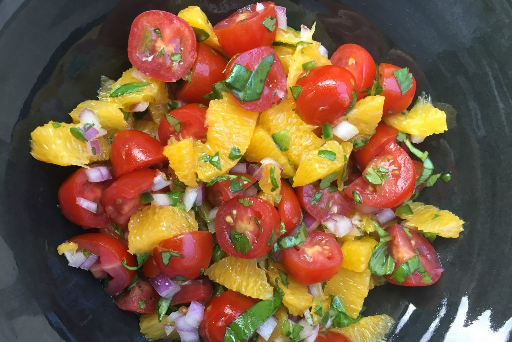 Fresh Orange Salsa