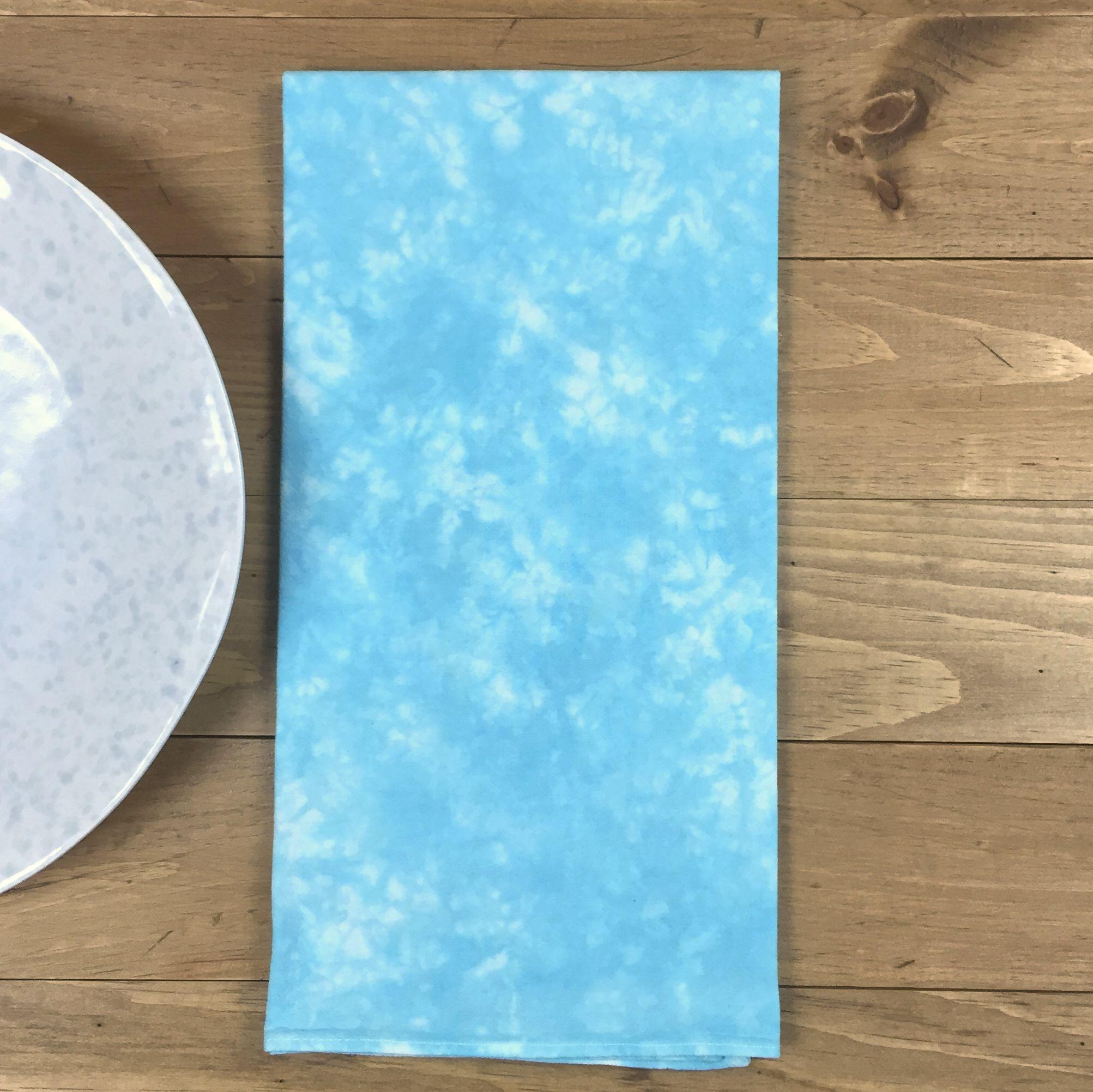 Turquoise Flour Sack Towel