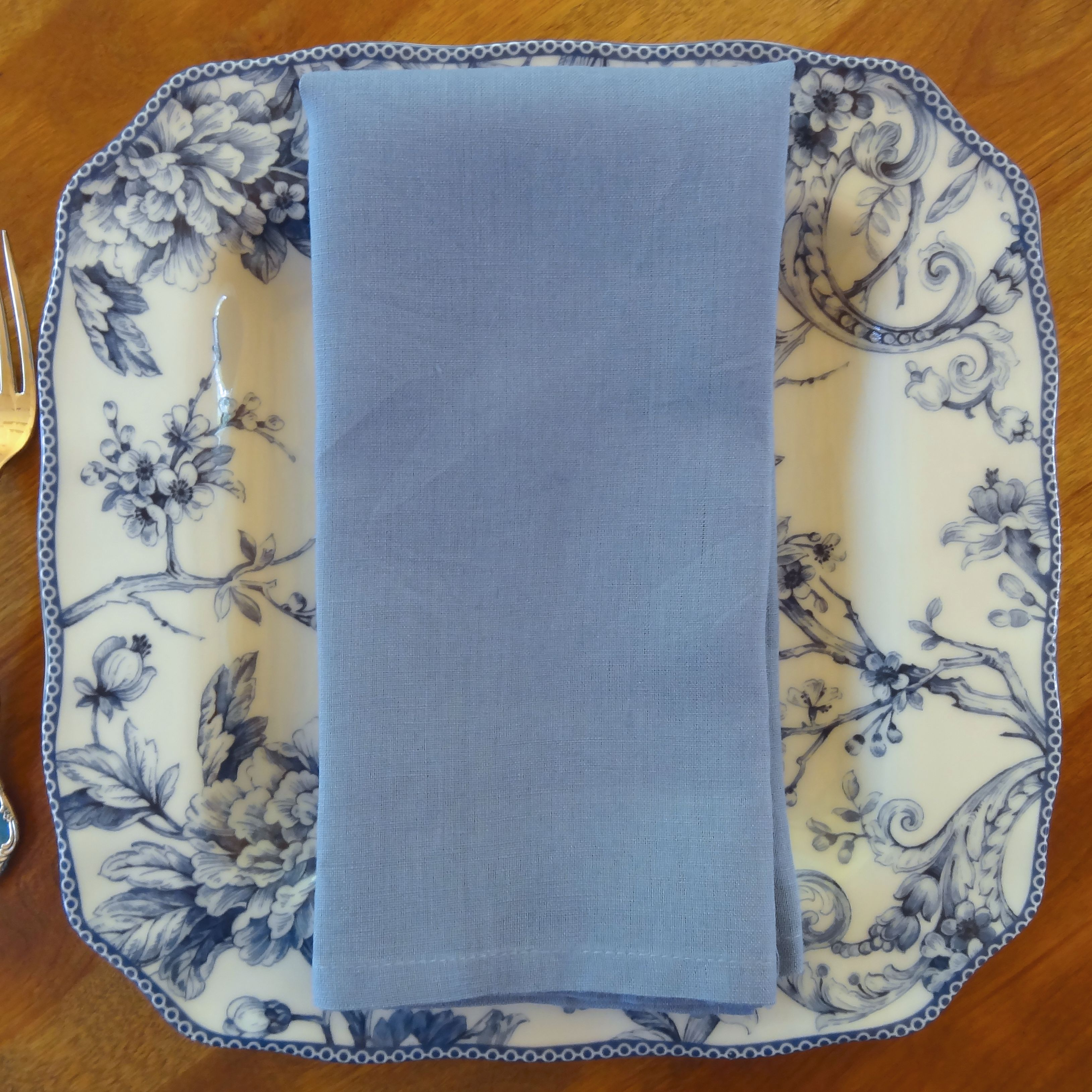 Light Blue Linen Napkin
