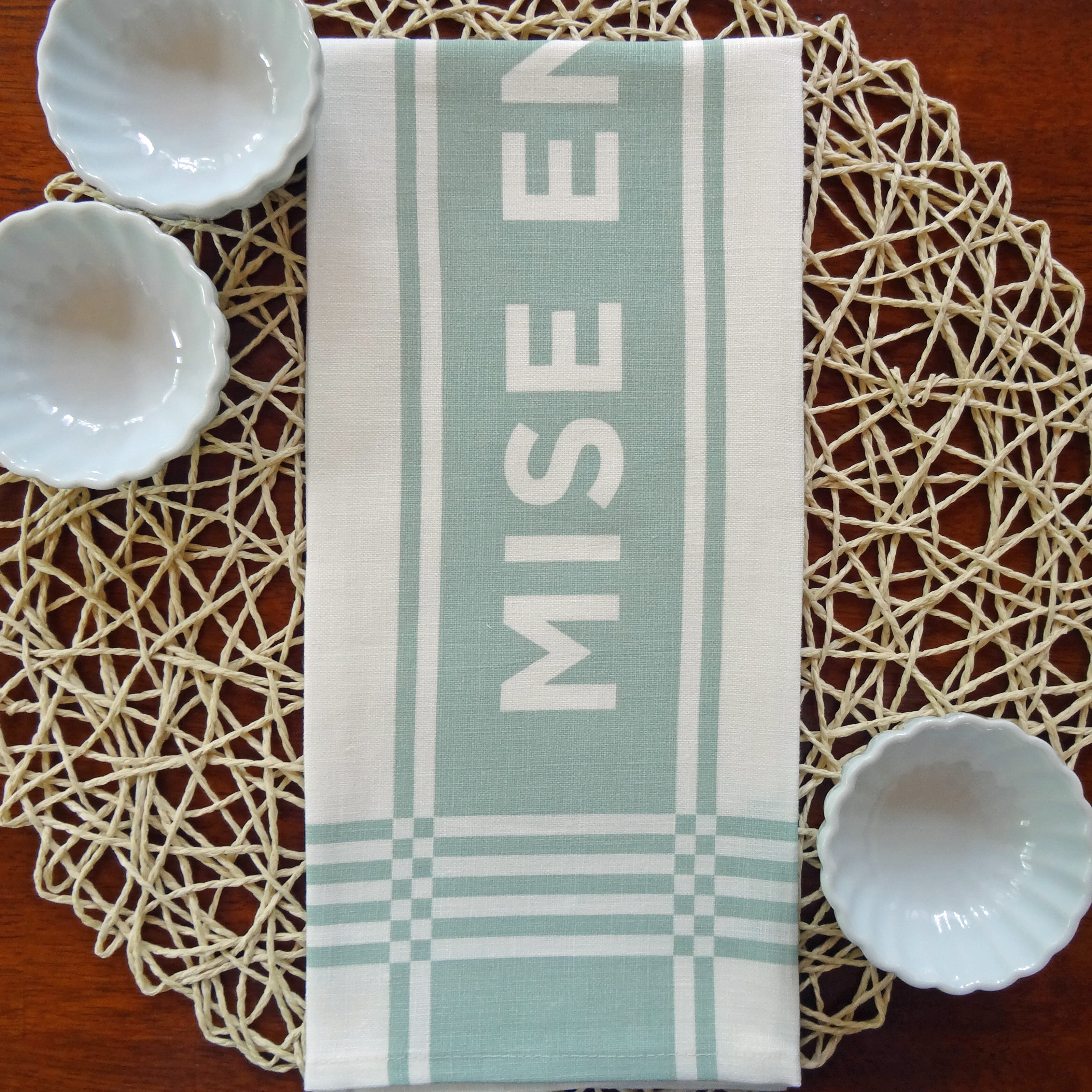 """Mise En Place"" Tea Towel"