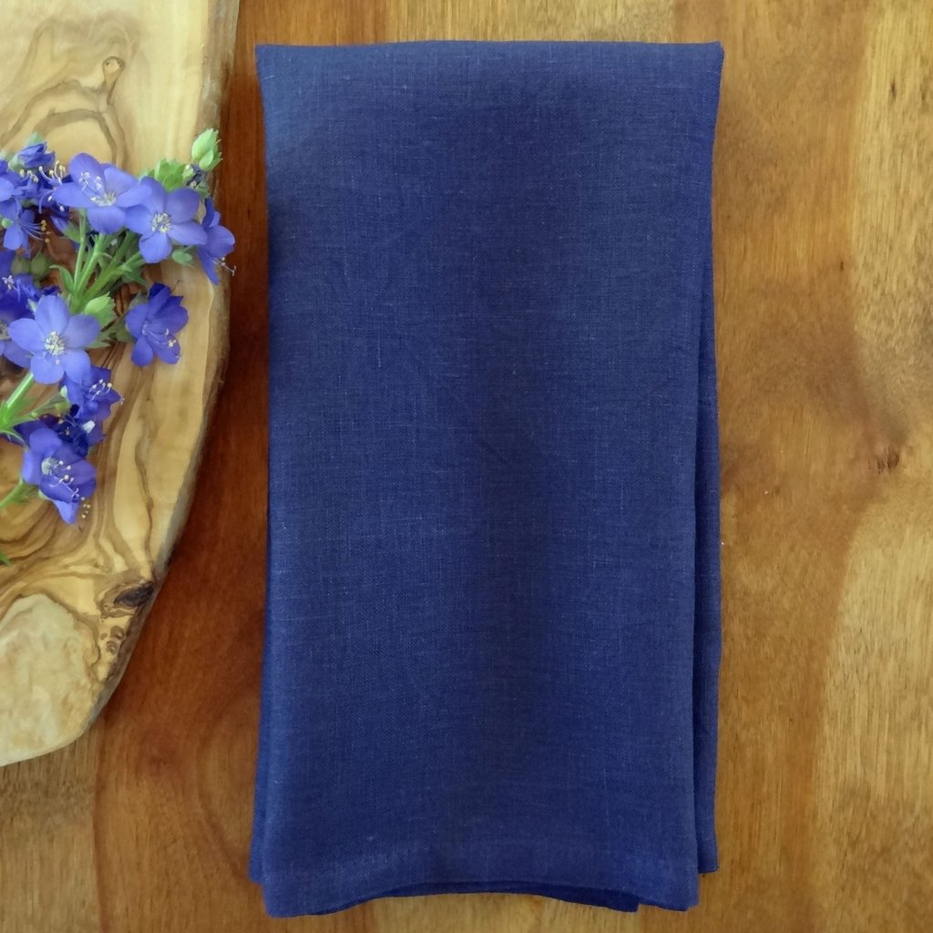 Purple Linen Napkin