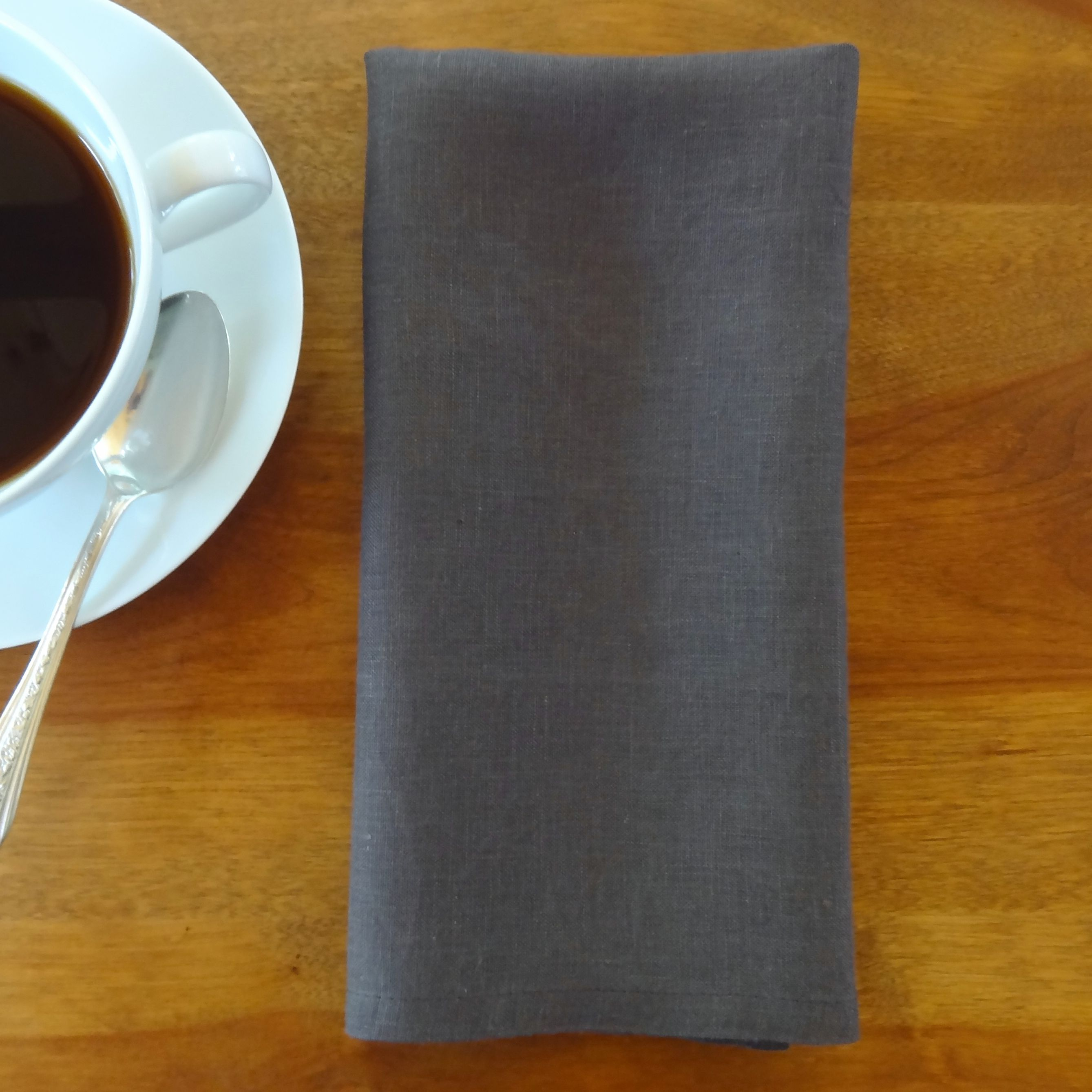 Dark Coffee Colored Napkins