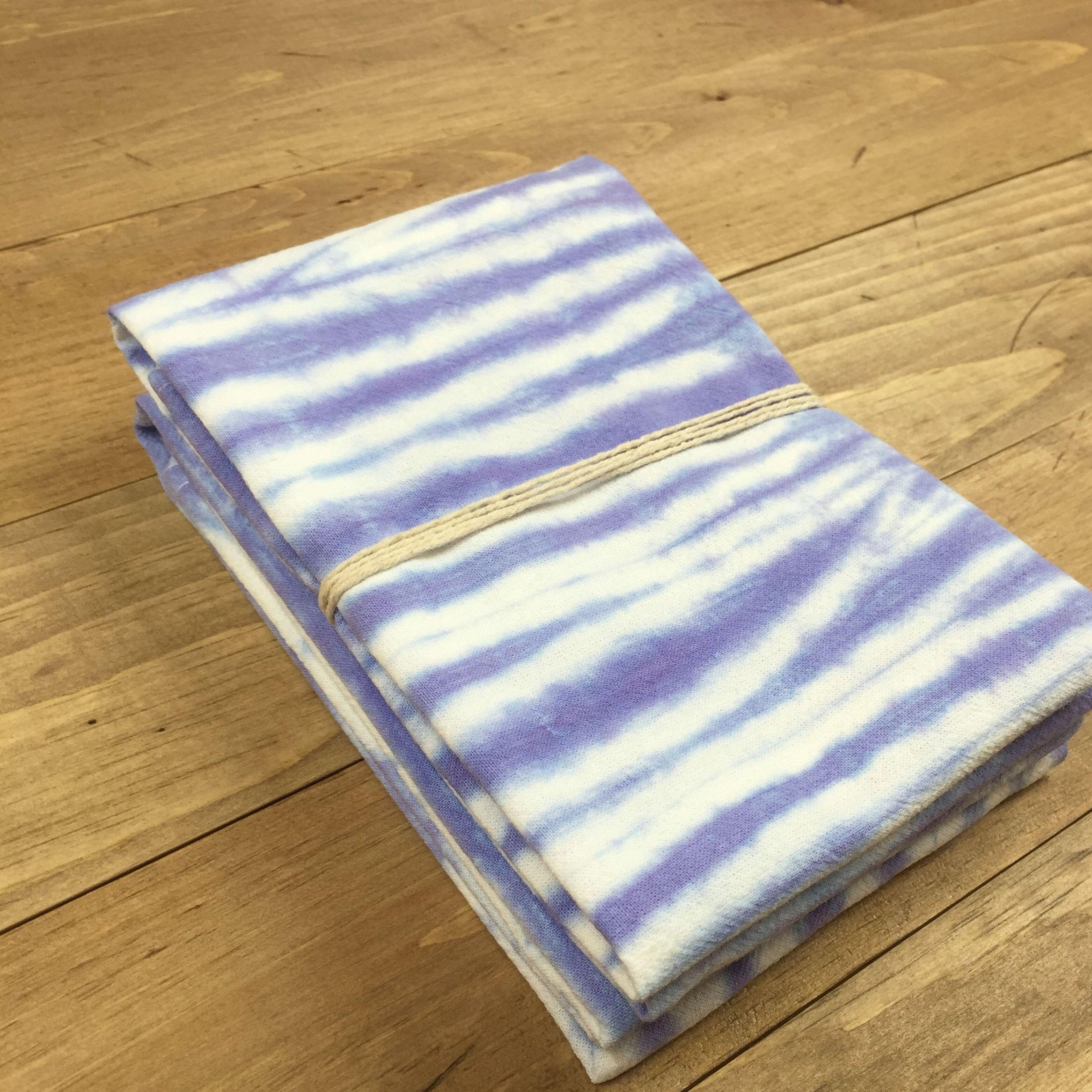 Purple Flour Sack Towel