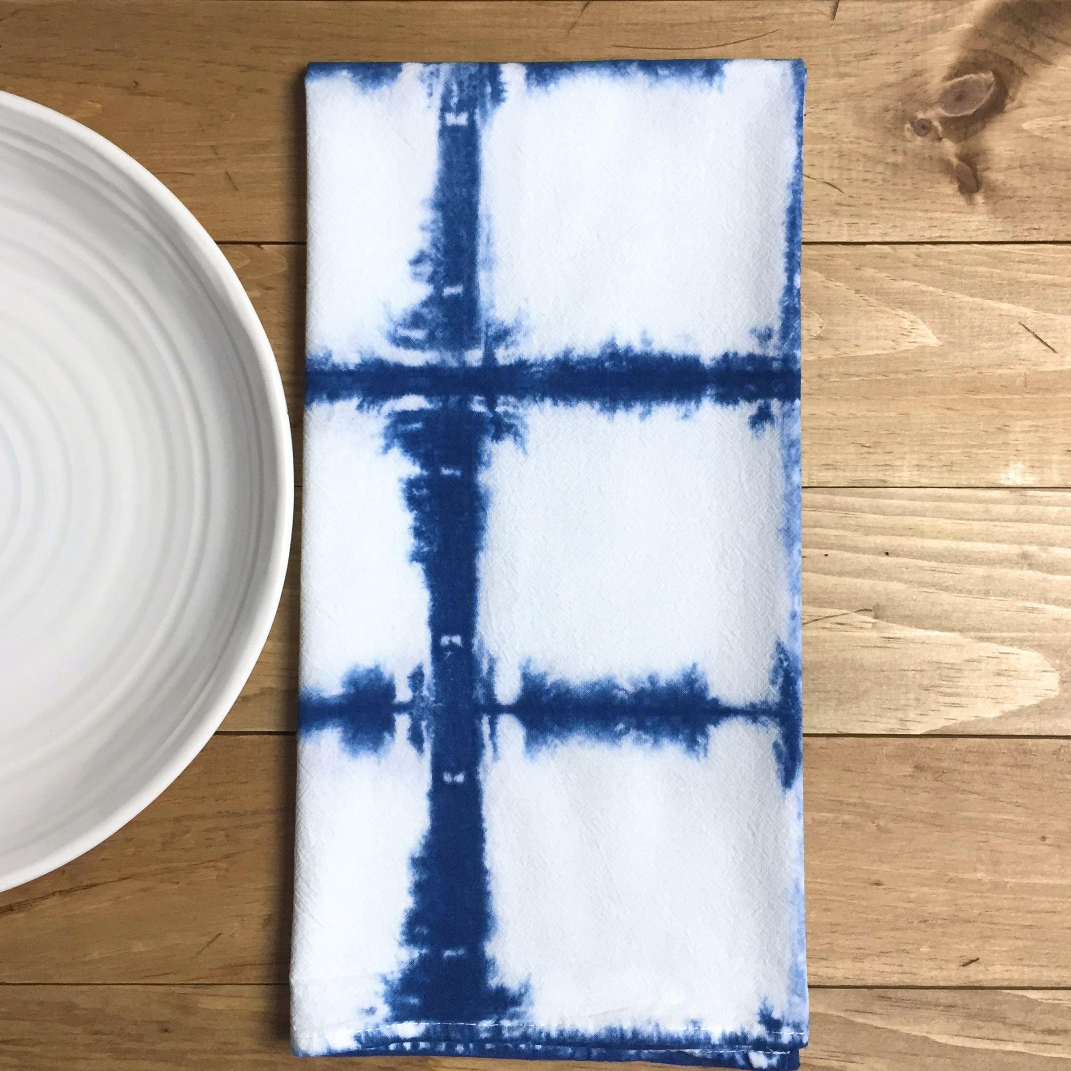 Shibori Tea Towel