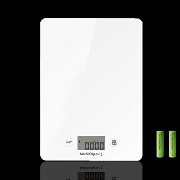 White Digital Scale
