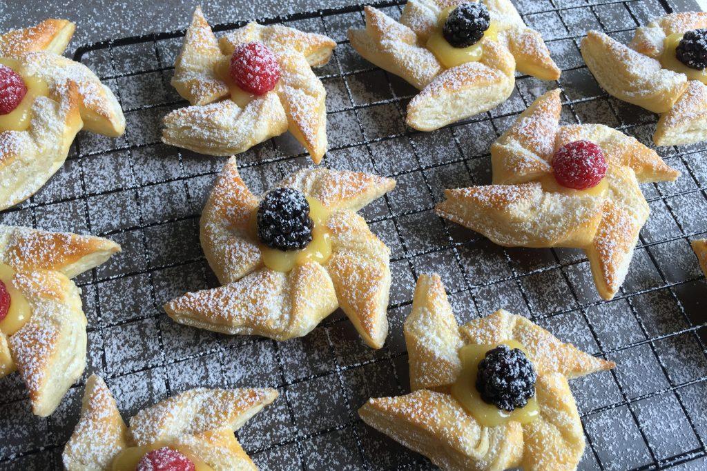 Pinwheels Pastry Tarts