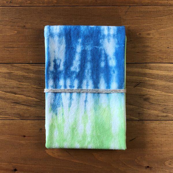 Blue & Green Flour Sack