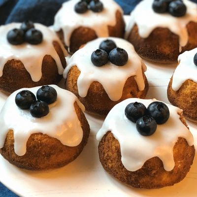 Lemon Blueberry Mini Cakes